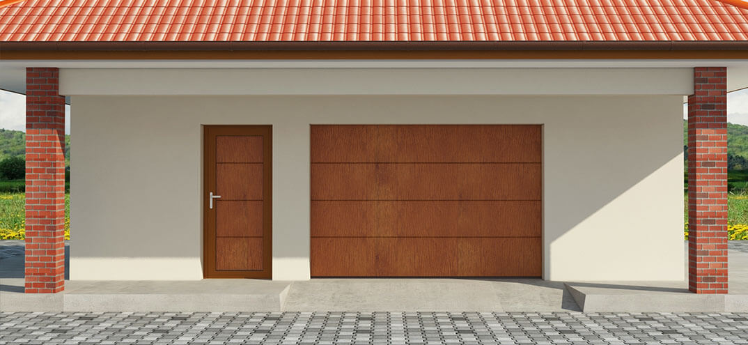 The Side Doors Facilitate Access To Garage Without Opening Garage Door And  Comprise ...