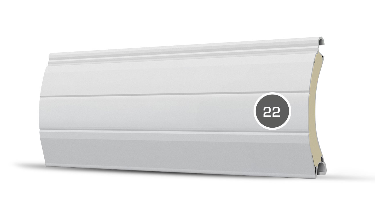 22 pancerz lamelka ultra bialy