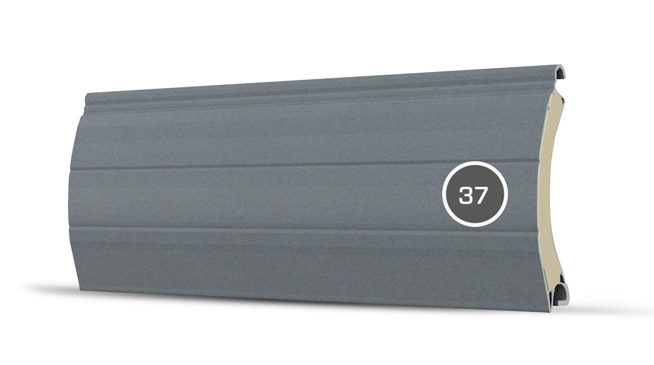37 pancerz lamelka szare aluminium